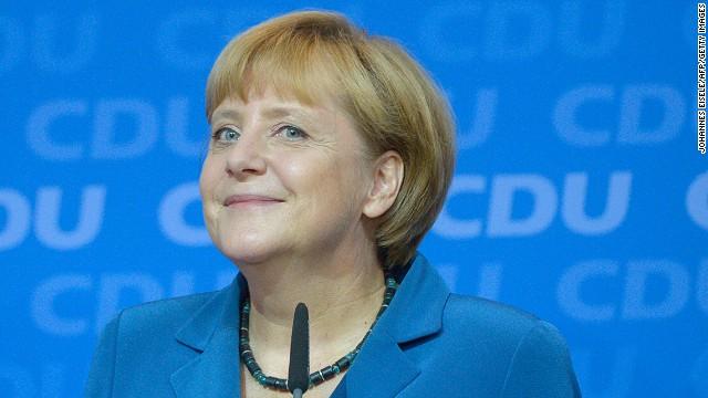 Angela Merkel wins big in Germany