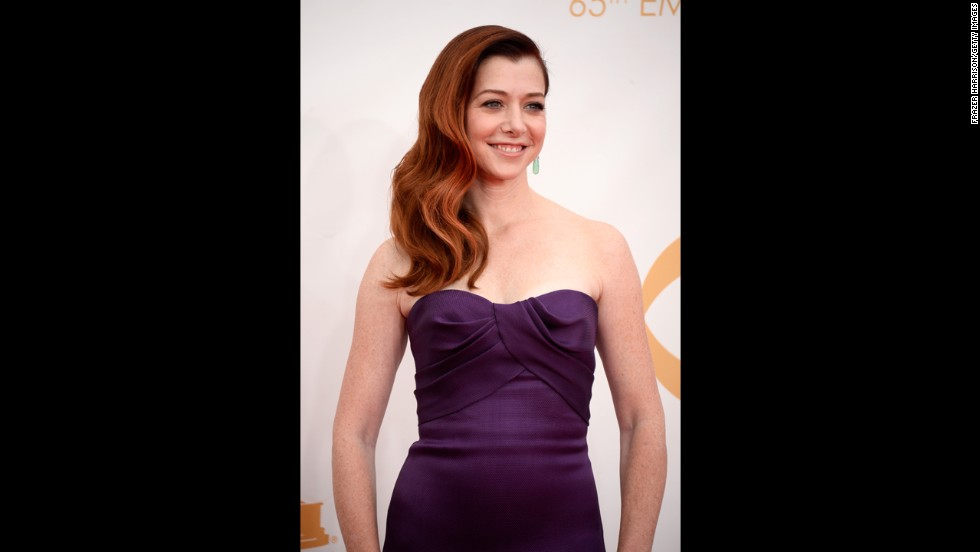 "Alyson Hannigan of ""How I Met Your Mother"""