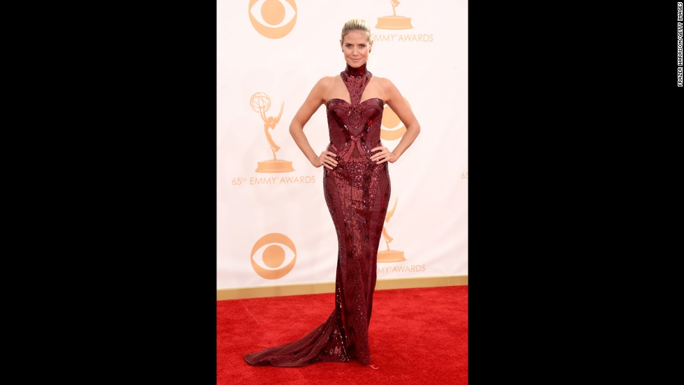 "Heidi Klum of ""Project Runway"""