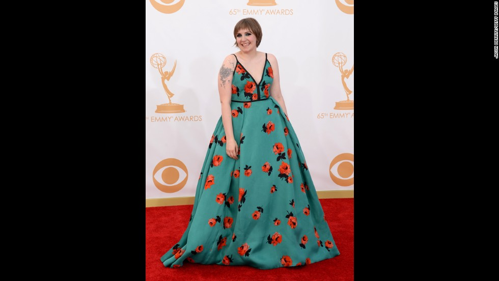 "Lena Dunham, creator and star of ""Girls"""