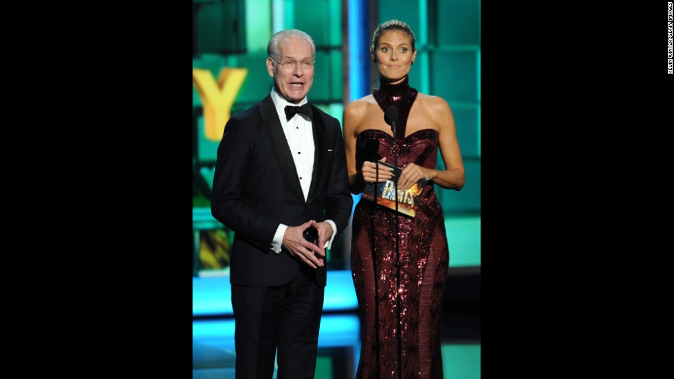 "Outstanding host for a reality or reality-competition program: Tim Gunn and Heidi Klum, ""Project Runway"""