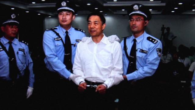 Bo Xilai begins life sentence