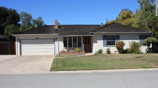 Steve Jobs' childhood home in Los Altos, California