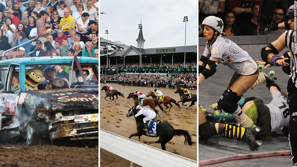 With all due respect to the English city, the U.S. is the home of the derby in all its forms, be it racing, smashing or bashing.