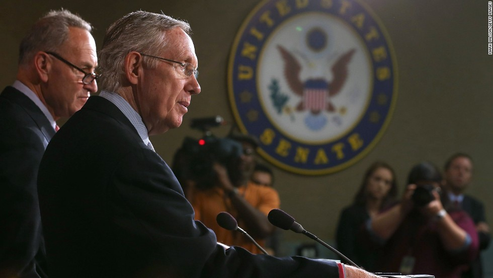 <strong>Sen. Harry Reid, D-Nevada </strong>-- The man steering the ship in the Senate.   Master at using Senate procedure to his advantage, Reid is the main force in controlling the voting process in the chamber and ensuring that an attempted filibuster by tea party-types fails.  The majority leader will be a primary negotiator if we reach phase three, if the House does not accept the Senate spending bill.