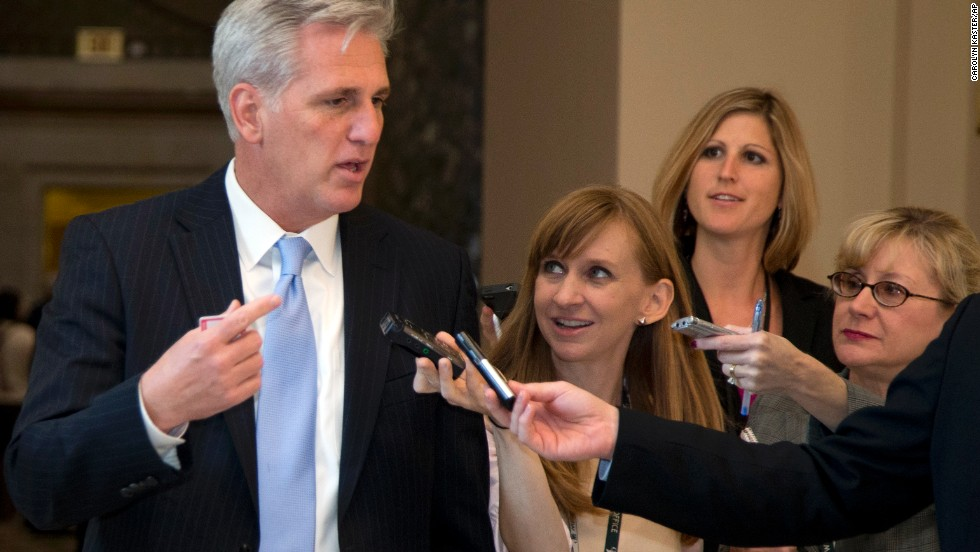 <strong>Rep. Kevin McCarthy, R-California </strong>-- The numbers guy. McCarthy, the House whip, has the tricky job of assessing exactly where Republican members stand and getting the 217 votes it takes to pass a bill in the chamber. He is known for his outreach to and connection with many of the freshmen House members who align with the tea party.