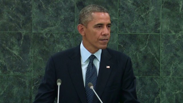 Obama: U.N. must take a stand on Syria
