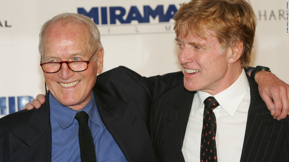 "The film ""Butch Cassidy and the Sundance Kid"" was one of the highlights of a beautiful friendship between Robert Redford (right) and the late Paul Newman. They worked together again in ""The Sting."" When Newman died in 2008, Redford <a href=""http://abcnews.go.com/WN/story?id=5914309&page=1"" target=""_blank"">spoke at length</a> about their relationship, praising Newman's social responsibility and his sense of fun."