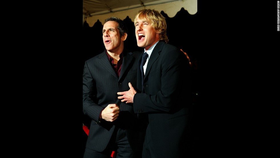 "Any fan of ""Zoolander"" will tell you just how great Ben Stiller and Owen Wilson work together. The pair turned up again in ""The Royal Tenenbaums,"" ""Starsky & Hutch"" and the ""Meet the Parents"" films."
