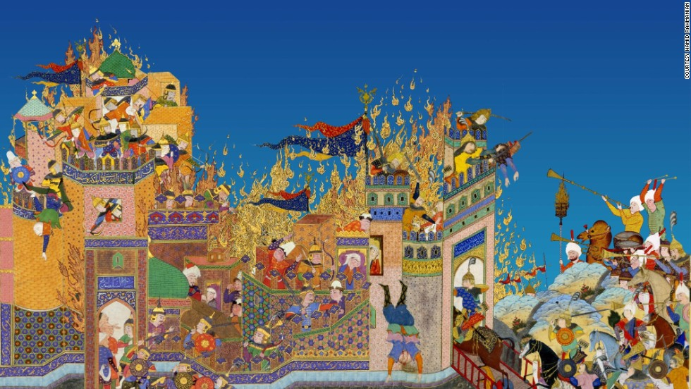 Persian filmmaker Hamid Rahmanian has made a contemporary translation of the Iranian epic, Shahnameh, for the digital age.