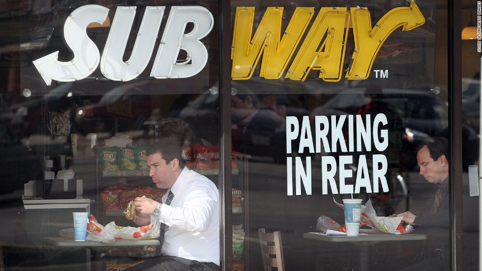 "While many have asked ""What is art?"" Subway was the first company to answer ""Putting cheeses and meats on a sub roll."" It now has 40,000 stores around the world, making it the world's biggest restaurant chain."