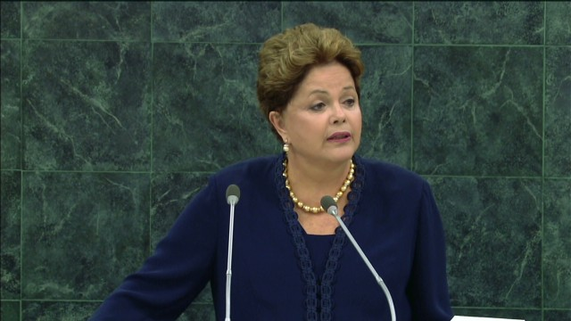 Brazilian president blasts U.S. over NSA
