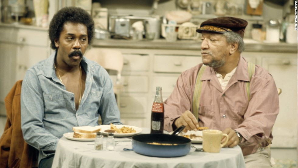 "Lamont Sanford (Demond Wilson) played straight man to dad Fred G. Sanford (Redd Foxx) as they ran their junkyard business and lived under the same roof in the '70s sitcom ""Sanford and Son."""