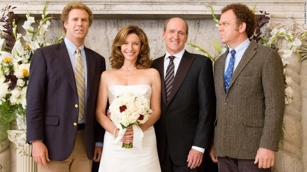 """Will Ferrell, left, and John C. Reilly, right, play the titular feuding """"Step Brothers"""" after their parents, played by Mary Steenburgen and Richard Jenkins, get hitched. The battle really heats up when the step-siblings are forced to bunk up."""