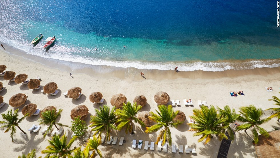 "These eight hotels represent a handful of the Fodor's 100 Hotel Award winners. Sugar Beach in St. Lucia is one of the list's ""blissful beach retreats"" for 2013. ""It's on one of St. Lucia's best beaches, has amazing views and a bit of history with 18th-century sugar plantation remains,"" says Fodor's executive editorial director Arabella Bowen."
