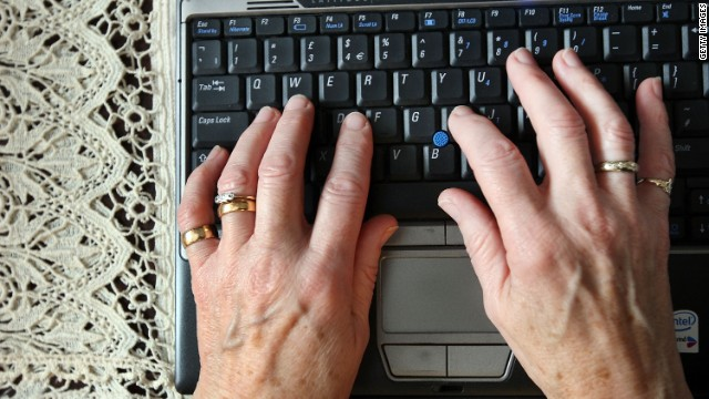 Age was the stronger predicter of internet use in a new survey. Forty-four percent of people 65 or older said they don't go online.
