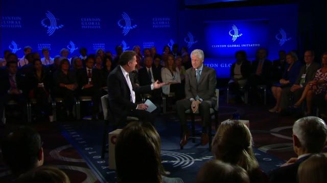 Bill Clinton on Iran's President Rouhani