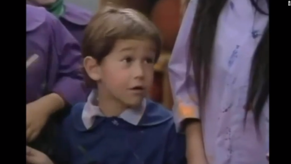"Can you say ""awwww""? At the tender age of 7, JGL picked up a role on the classic NBC sitcom, ""Family Ties,"" as Dougie. <a href=""http://www.youtube.com/watch?v=i0RFFteSfYM"" target=""_blank"">He was only on the series for two episodes</a>, but clearly the kid was going places."
