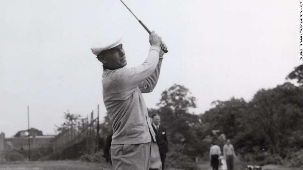 American golfer Ben Hogan recovered from horrific injuries sustained in a head-on car crash in 1949 to win the U.S. Open the following year. On instinct, he had moved across the car to protect his wife -- an action that saved his life. Hogan would go on to win five more major titles -- nine in total -- and is considered one of the game's greats.
