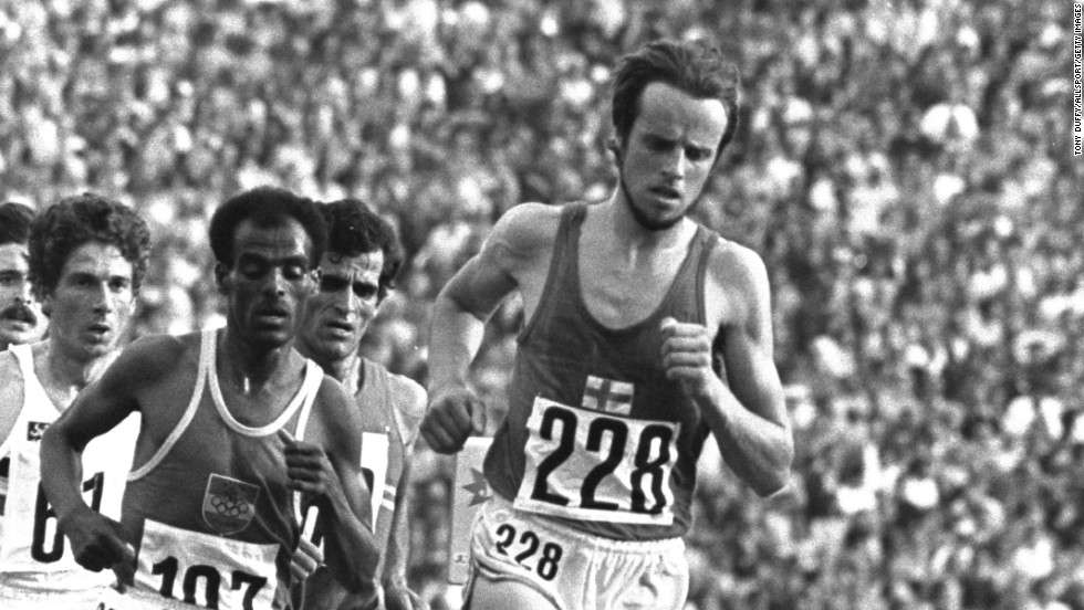 Lasse Viren literally picked himself up off the floor to complete his famous comeback at the 1972 Olympic Games. The Finnish runner won gold in the 10,000 meters -- and broke the world record too -- after falling over on the 12th lap of the race.