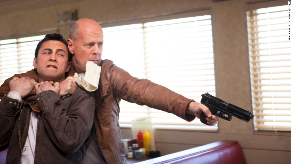 """Gordon-Levitt also transformed into a Bruce Willis lookalike for his reunion with """"Brick"""" director Rian Johnson and his futuristic thriller, """"Looper."""" Critics salivated over its gripping plot, and while Gordon-Levitt had prosthetics to help him get into character, he was also recognized for carrying a strong performance."""