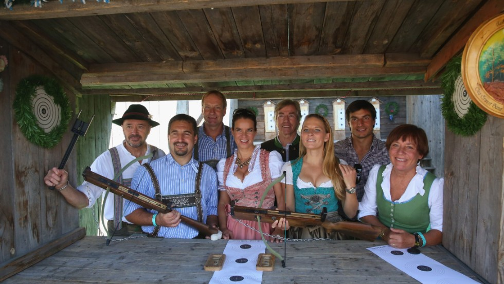 Weissbier, peasants, guns: no, Oktoberfest can't be <em>completely</em> harmless.