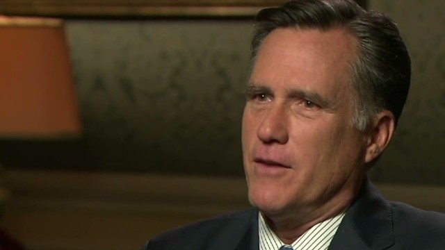 Exclusive: Mitt Romney on GOP 'tactics'