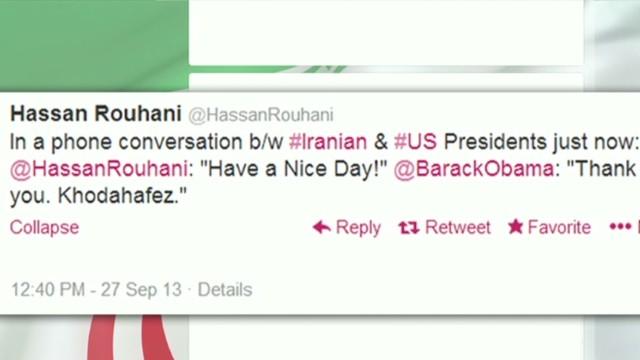 Historic U.S. phone call with Iran