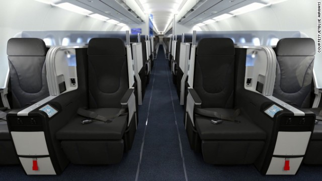 JetBlue is introducing premium seating on its flights between New York and San Francisco, and New York and Los Angeles.