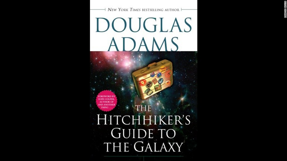 """The Hitchhiker's Guide to the Galaxy"" is the fictional travel guide at the heart of Douglas Adams' comic science fiction series. Originally a radio series that aired on BBC Radio 4 in 1978, it became an international phenomenon that was adapted into several mediums, including novels beloved by readers young and old."