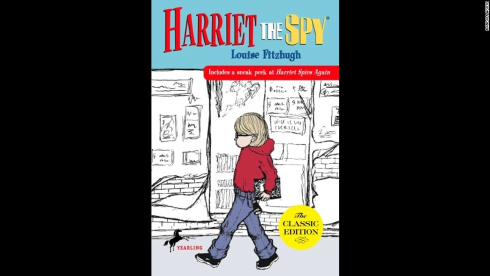 "Louise Fitzhugh's ""Harriet the Spy"" follows the adventures of an 11-year-old aspiring spy who documents the activities of friends and neighbors in New York City -- and runs into some trouble (and a few delish tomato sandwiches) along the way."