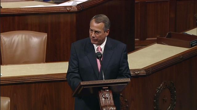 Boehner: President 'won't negotiate'