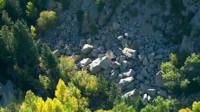 Five hikers killed in Colorado rockslide