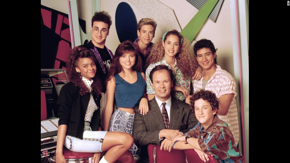 "Although ""Saved By the Bell"" got its start in 1989, the half-hour comedy helped define a generation and is still<em> </em>popular in syndication. We don't care <a href=""http://celebritybabies.people.com/2013/09/30/mark-paul-gosselaar-welcomes-son-dekker-edward/"" target=""_blank"">how many kids Mark-Paul Gosselaar has</a> or <a href=""http://remotecontrol.mtv.com/2013/09/27/mario-lopez-elizabeth-berkley-extra-saved-by-the-bell-trivia/"" target=""_blank"">how many hosting gigs Mario Lopez picks up</a>, they're both eternally Zack and Slater to us. (Same goes for you, Elizabeth ""I'm so excited!"" Berkley.)"