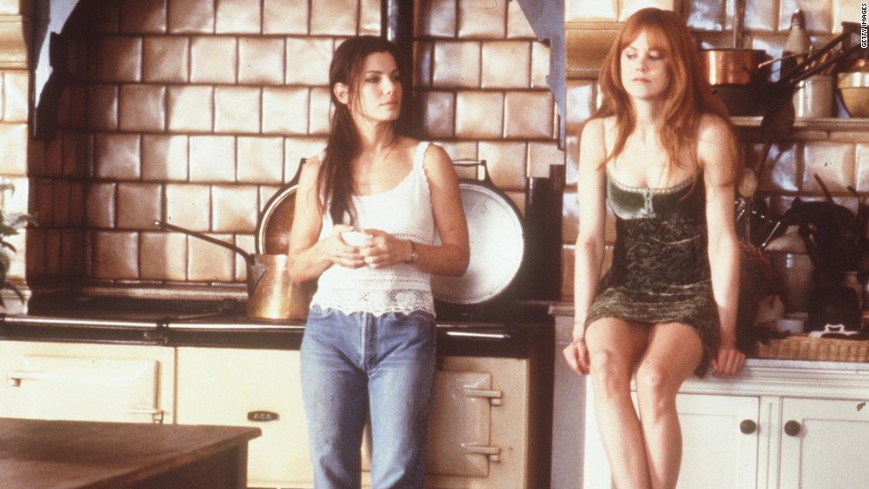 "Sandra Bullock, left, and Nicole Kidman as a pair of sister witches in 1998's ""Practical Magic"" is more endearing than scary. Part comedy, part romance and part thriller, the duo's portrayal of a pair of humorous witches is a guilty pleasure."