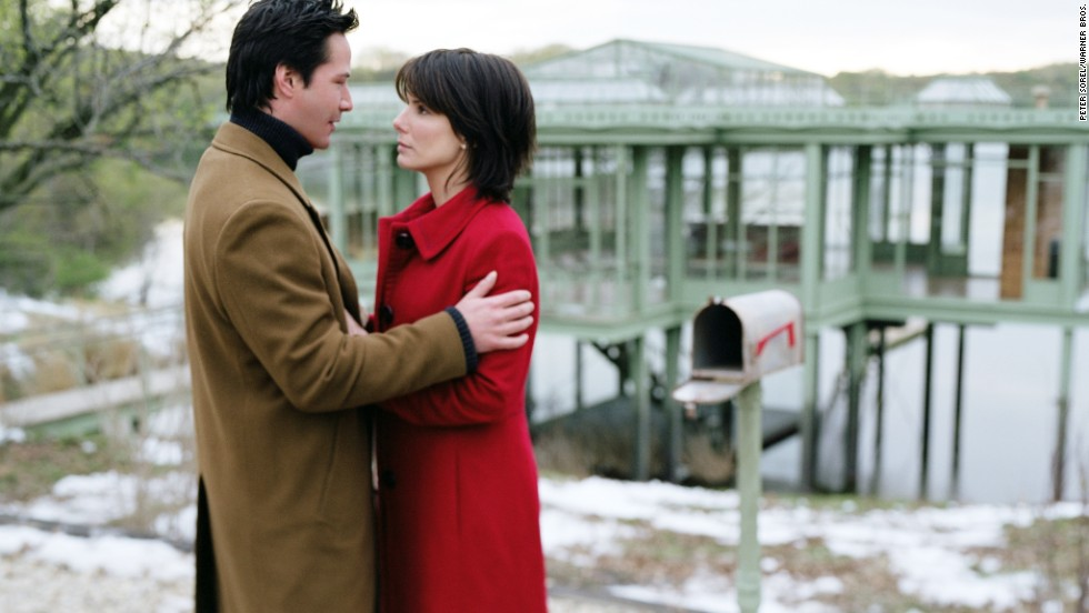 "Former ""Speed"" co-stars Keanu Reeves and Bullock reunited in 2006 for the romantic drama ""The Lake House."""