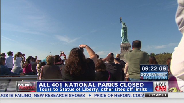 Locked out of 'Lady Liberty'