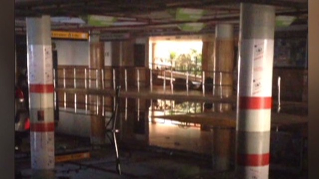 Raw footage: Go inside devastated Nairobi mall