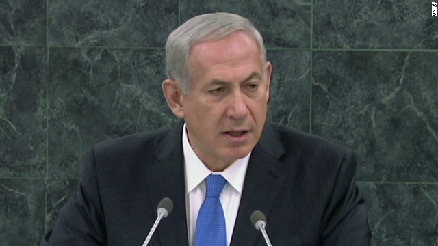 Israeli PM speaks against Rouhani at UN