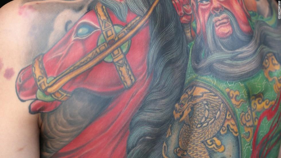 Samurai and sword-rich eastern scenes were also common, the organizers said.
