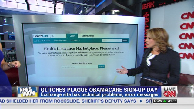 Signing up for Obamacare