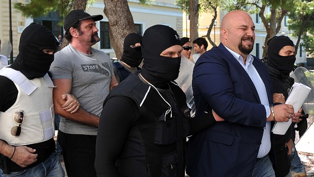 Golden Dawn leaders in court in Greece