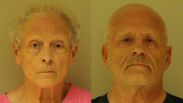 Elderly couple charged with murder
