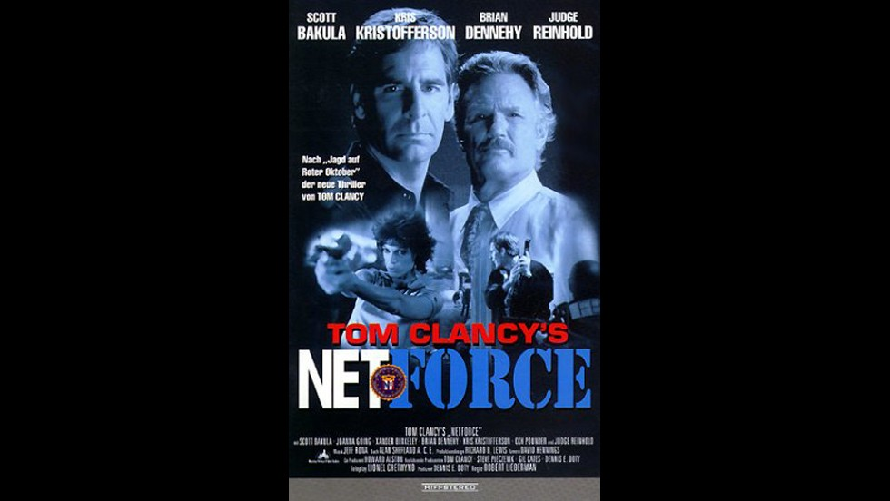 "Tom Clancy's ""NetForce"" was a 1999 TV movie set in the then-near future of 2005. In it, the FBI battles a villain set on controlling the Internet."