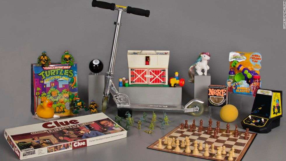 """The National Toy Hall of Fame recognizes toys """"that have inspired creative play and enjoyed popularity over a sustained period."""" The institution announced 12 finalists for induction into the hall last month, and today, it announced two winners. Click through the gallery to see the finalists -- and which toys won induction in 2013."""