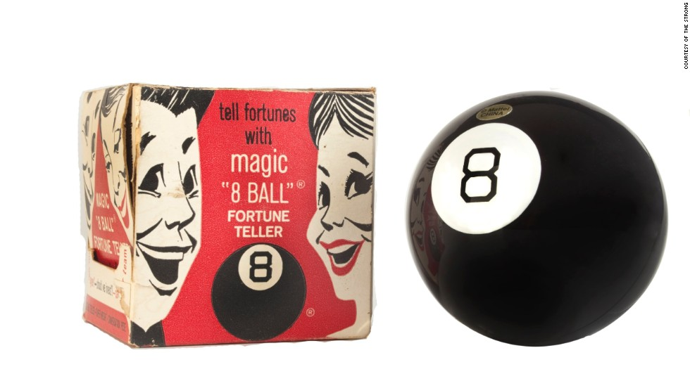 "The Magic 8 ball claims to have the answers to all of life's questions. But will it be inducted into the Toy Hall of Fame in 2013? ""My reply is no."""