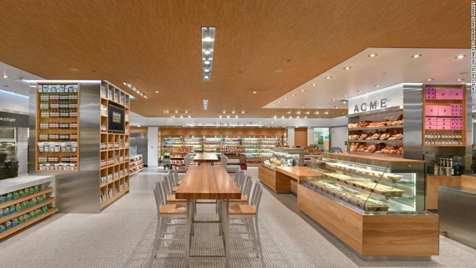"""Napa Farms Market at San Francisco International Airport was awarded for best to-go food. The market, by Tastes on the Fly, also won for """"best airport food and beverage reflecting sense of place."""""""