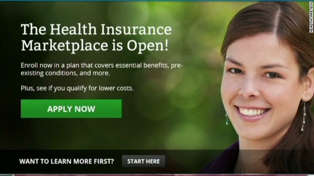 Obamacare site has first-day problems