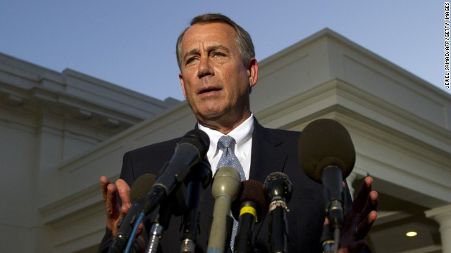 Judging Boehner back home on shutdown