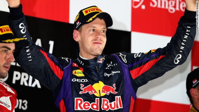 Sebastian Vettel is looking to steer his Red Bull to a fourth consecutive grand prix win in Singapore.